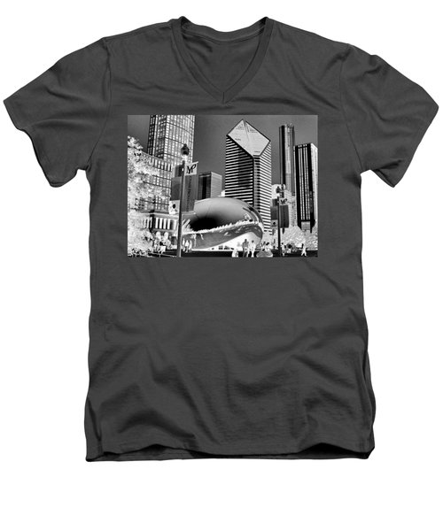 The Bean - 2 Men's V-Neck T-Shirt
