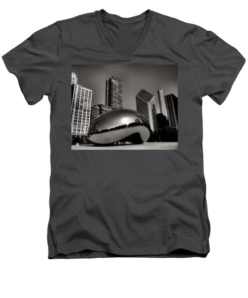 The Bean - 4 Men's V-Neck T-Shirt