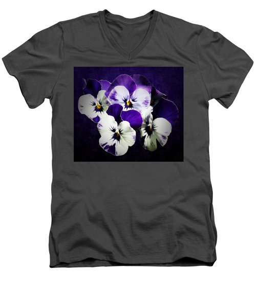 The Beauties Of Spring Men's V-Neck T-Shirt by Gabriella Weninger - David