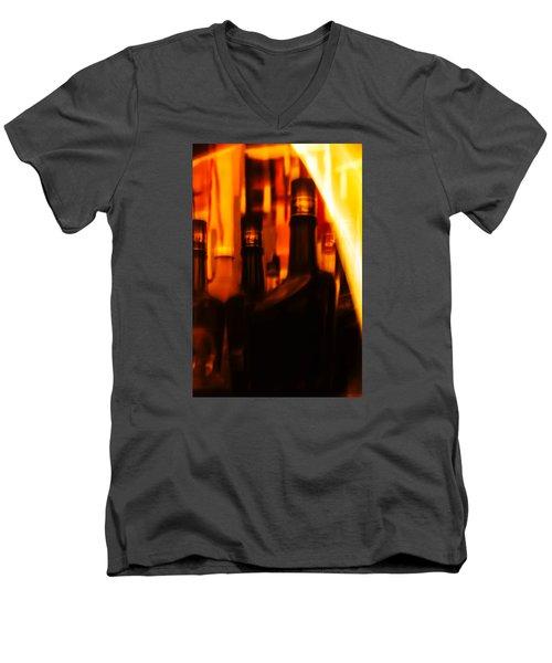 The Beautiful Colours Men's V-Neck T-Shirt