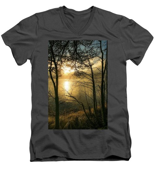 The Beauty Of Nature Men's V-Neck T-Shirt by Rose-Marie Karlsen