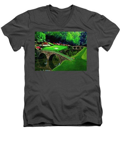 The Beauty Of The Masters Cropped Version Men's V-Neck T-Shirt