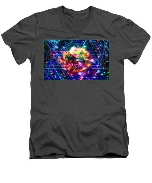 The Beholder Men's V-Neck T-Shirt