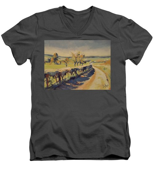 The Bellet Orchard Men's V-Neck T-Shirt