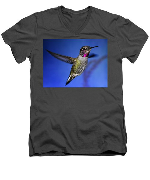Men's V-Neck T-Shirt featuring the photograph The Best Feature by William Lee