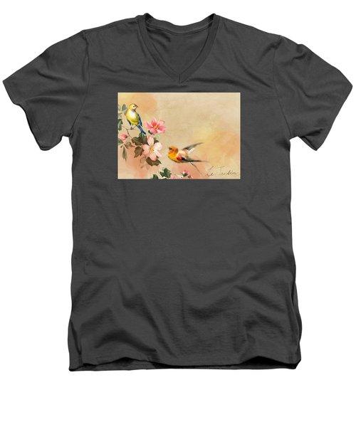 The Birds Men's V-Neck T-Shirt
