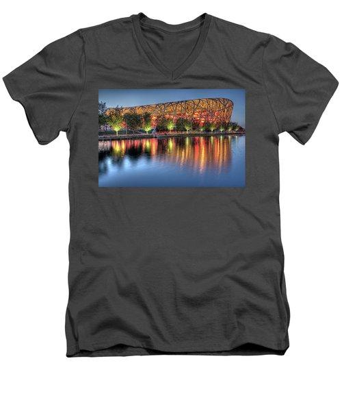 The Bird's Nest Men's V-Neck T-Shirt