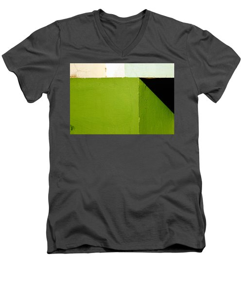The Black Triangle Men's V-Neck T-Shirt