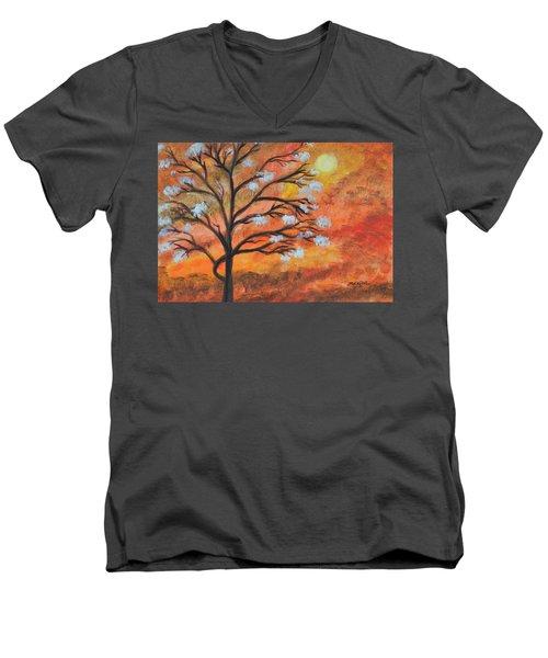 The Blossom Men's V-Neck T-Shirt