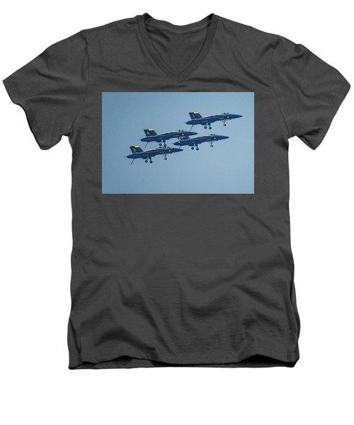 The Blue Angels Men's V-Neck T-Shirt
