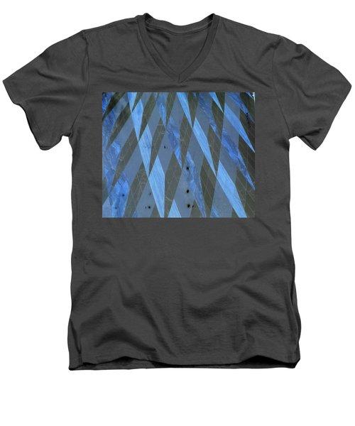 The Blue Dimension Men's V-Neck T-Shirt