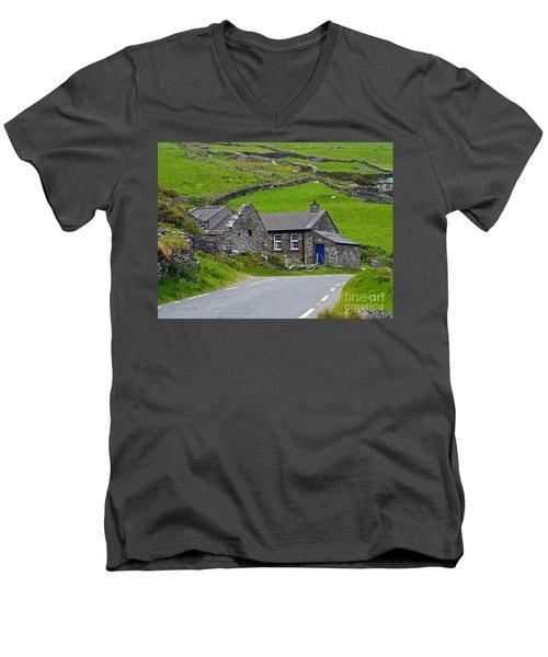 The Blue Door Men's V-Neck T-Shirt