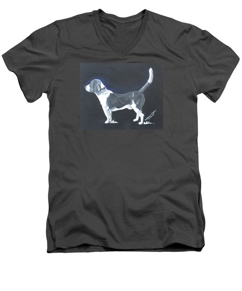 The Blue Knight Men's V-Neck T-Shirt