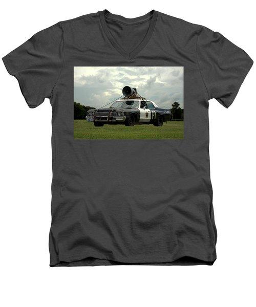 The Bluesmobile Men's V-Neck T-Shirt