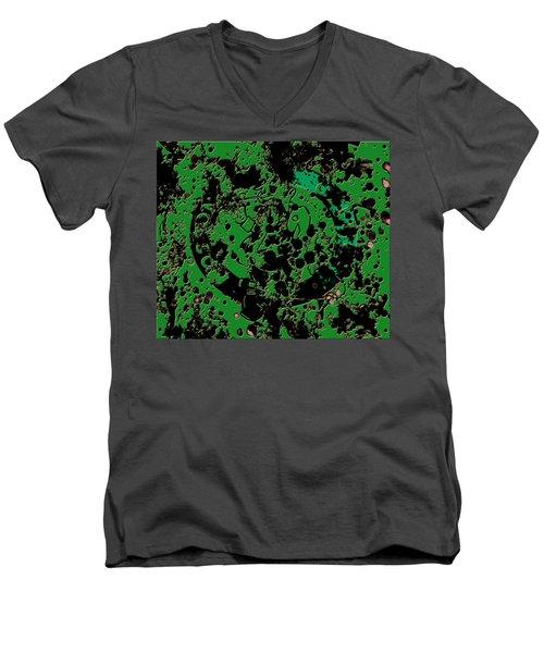 The Boston Celtics 6c Men's V-Neck T-Shirt