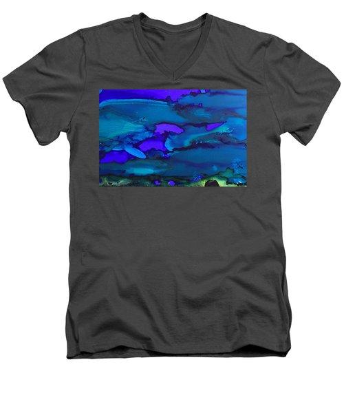 The Bottom Of The Sea Men's V-Neck T-Shirt