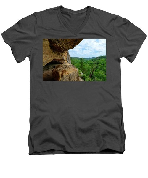 The Boulders Edge Men's V-Neck T-Shirt