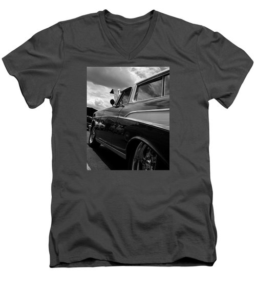 The Bowtie Men's V-Neck T-Shirt by Steve Godleski