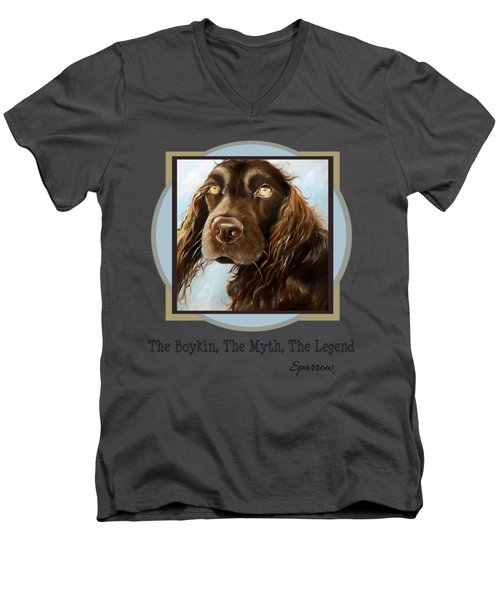 The Boykin, The Myth, The Legend Men's V-Neck T-Shirt