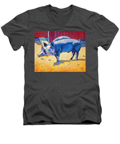 The Break Room Men's V-Neck T-Shirt