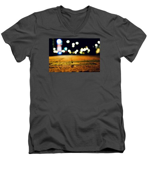 The Bricks Men's V-Neck T-Shirt