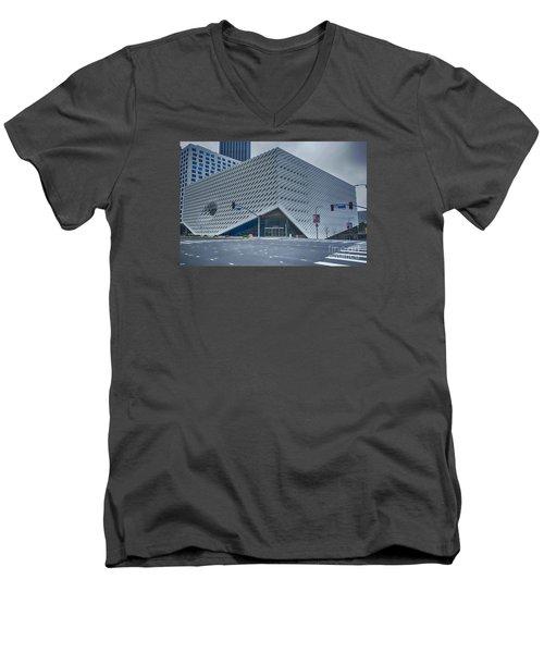The Broad Museum Men's V-Neck T-Shirt
