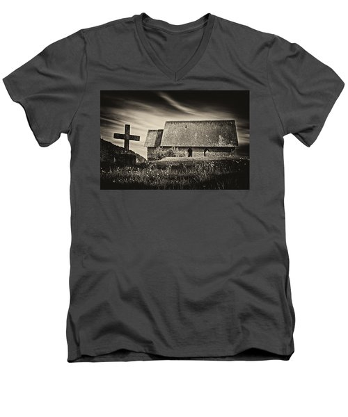 The Butter Church - 365-41 Men's V-Neck T-Shirt