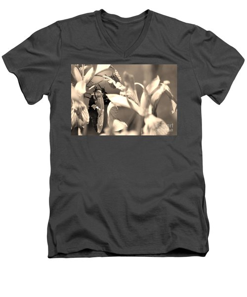 The Butterfly Men's V-Neck T-Shirt