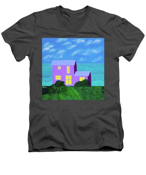 The Caicos Men's V-Neck T-Shirt