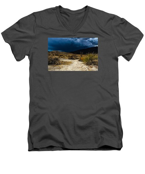 The Calm Before Men's V-Neck T-Shirt