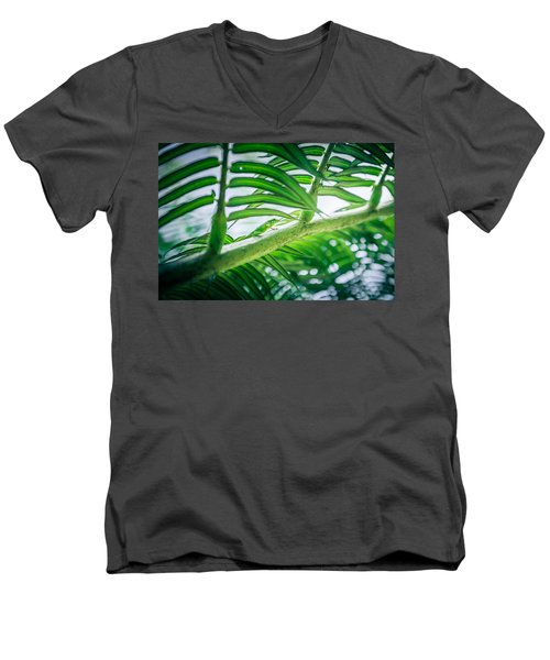 The Camouflaged Men's V-Neck T-Shirt