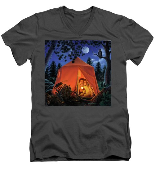 The Campout Men's V-Neck T-Shirt
