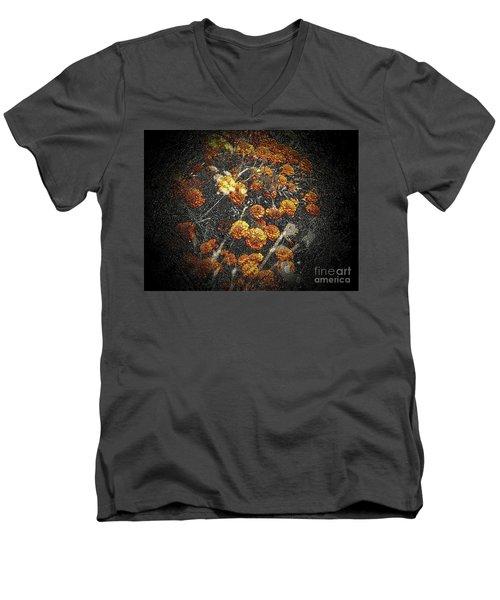 The Carved Bush Men's V-Neck T-Shirt