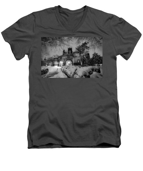 The Castle Men's V-Neck T-Shirt