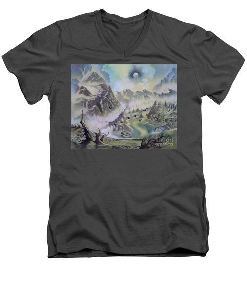 The Cauldron Men's V-Neck T-Shirt