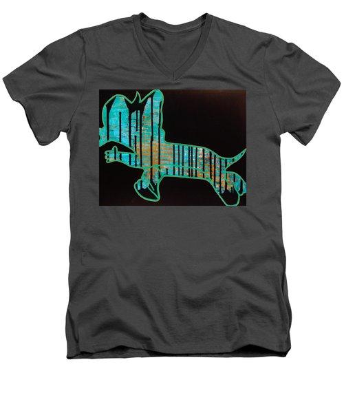 The Rundown Men's V-Neck T-Shirt