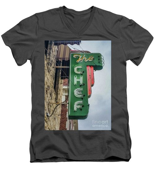 The Chef Men's V-Neck T-Shirt