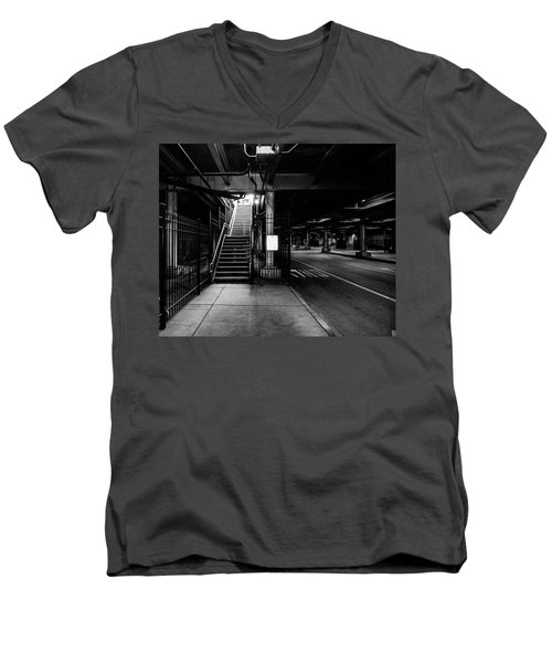 The Chi Lite Men's V-Neck T-Shirt