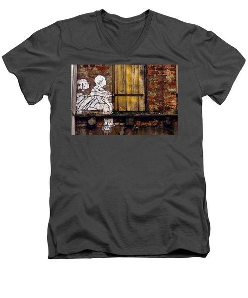 The Child's View Men's V-Neck T-Shirt