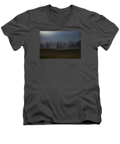 Men's V-Neck T-Shirt featuring the photograph The Chosen by Annette Berglund