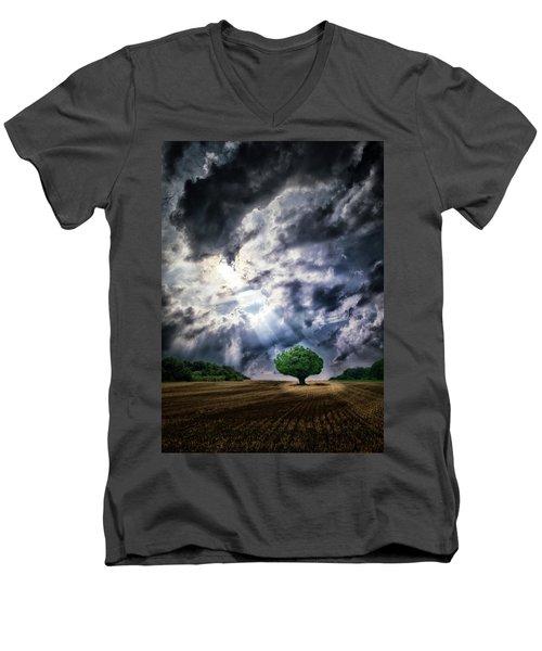 Men's V-Neck T-Shirt featuring the photograph The Chosen by Mark Fuller