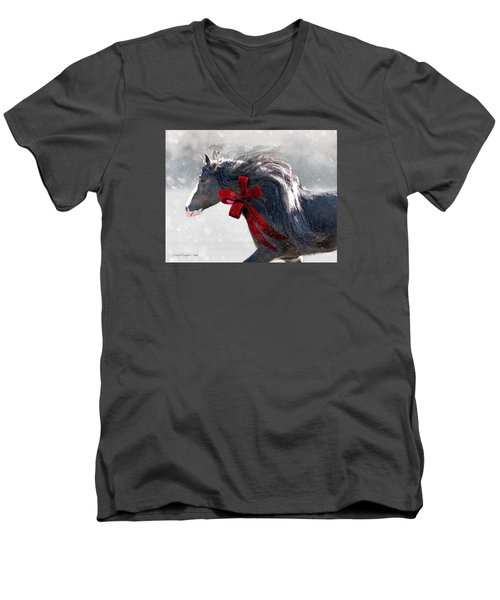 The Christmas Beau Men's V-Neck T-Shirt
