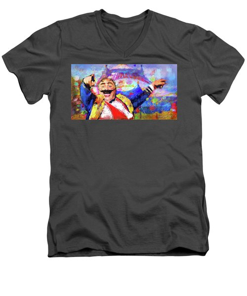 The Circus Men's V-Neck T-Shirt