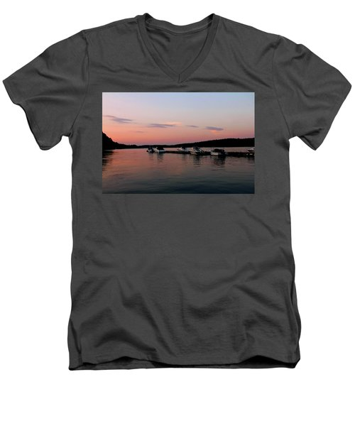 The City Of Ships Men's V-Neck T-Shirt