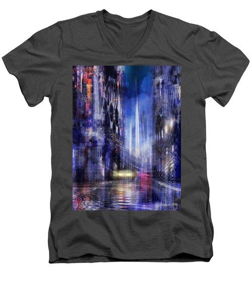 The City Rhythm IIi Men's V-Neck T-Shirt