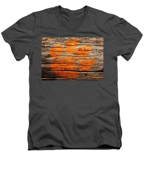 The Clemson Tigers 1a Men's V-Neck T-Shirt