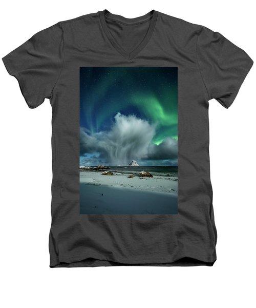 The Cloud I Men's V-Neck T-Shirt