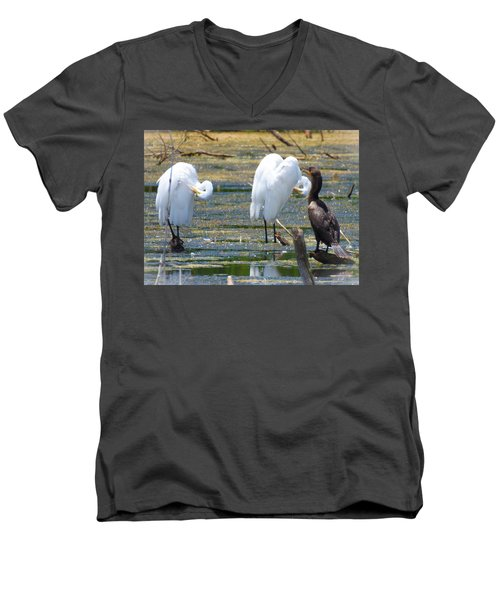 The Coach Men's V-Neck T-Shirt