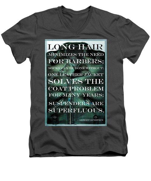 The Coat Problem 2.0 Men's V-Neck T-Shirt