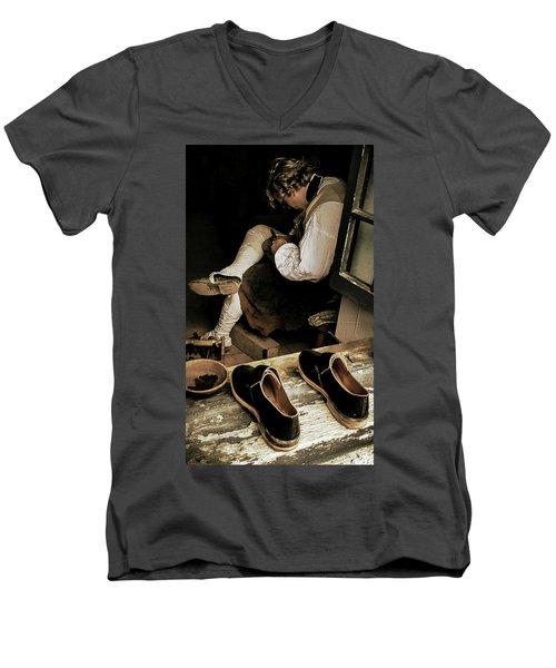 The Cobblers Window Men's V-Neck T-Shirt